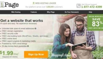 iPage Web Hosting Coupon