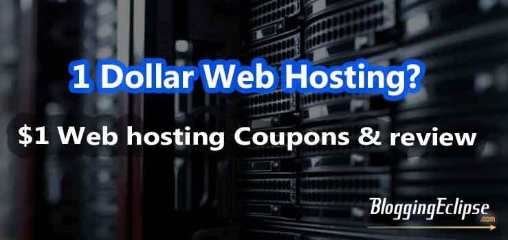 1 Dollar web hosting