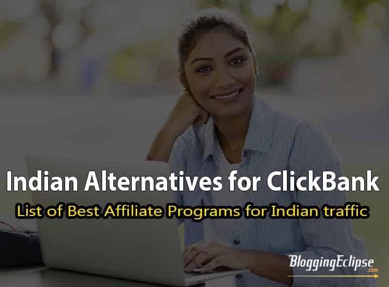 Clickbank alternatives in India