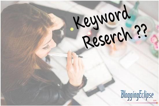 Keyword research frustration