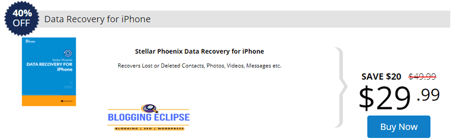 Stellar-Data-Recovey-for-iPhone-coupon