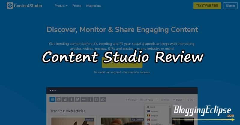 ContentStudio Review