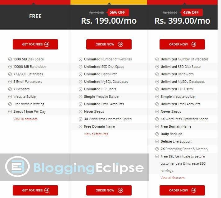 000Webhost-pricing