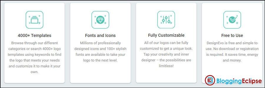 DesignEvo-features