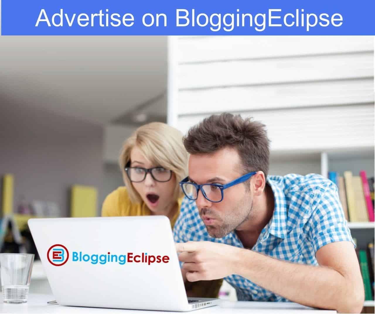 Advertising On bloggingeclipse.com