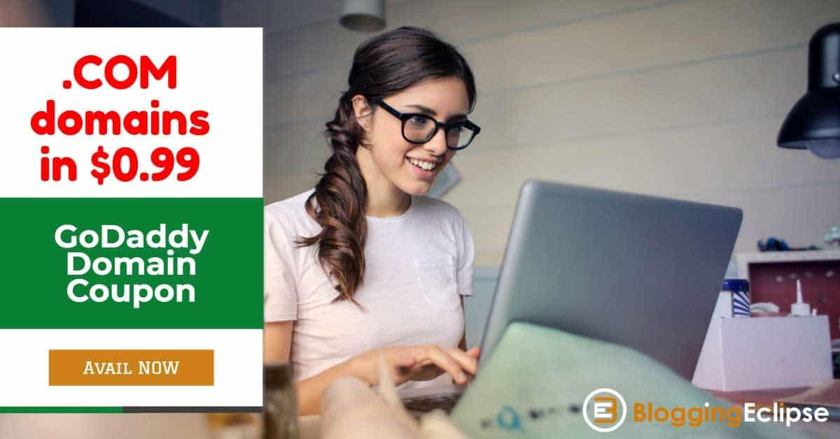 Godaddy 99 cent domains coupon code