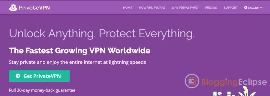 PrivateVPN south Africa