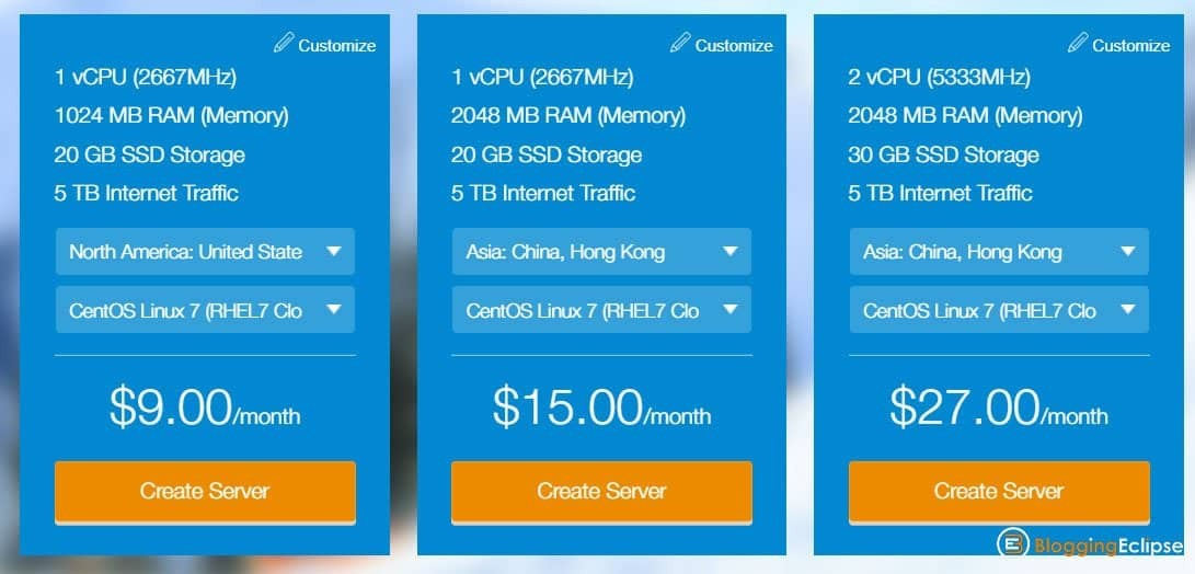 Kamataera-Cloud-server-pricing