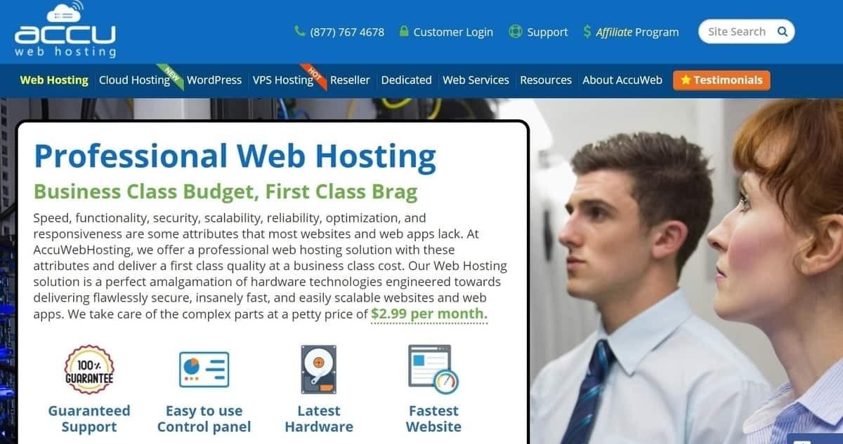 AccuWeb Hosting UK