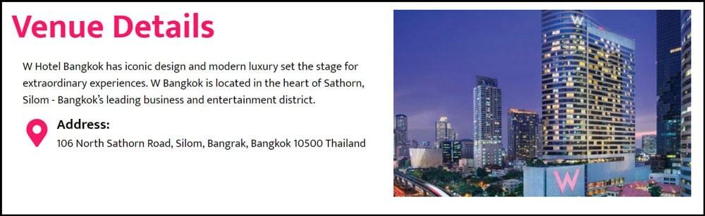 NEXTBLOCK Asia venue Details