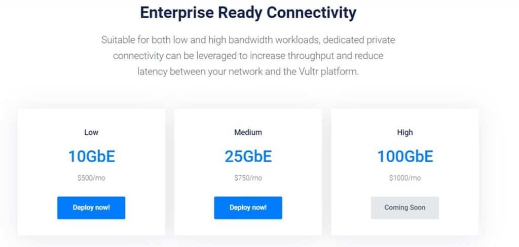 Vultr Direct Connect