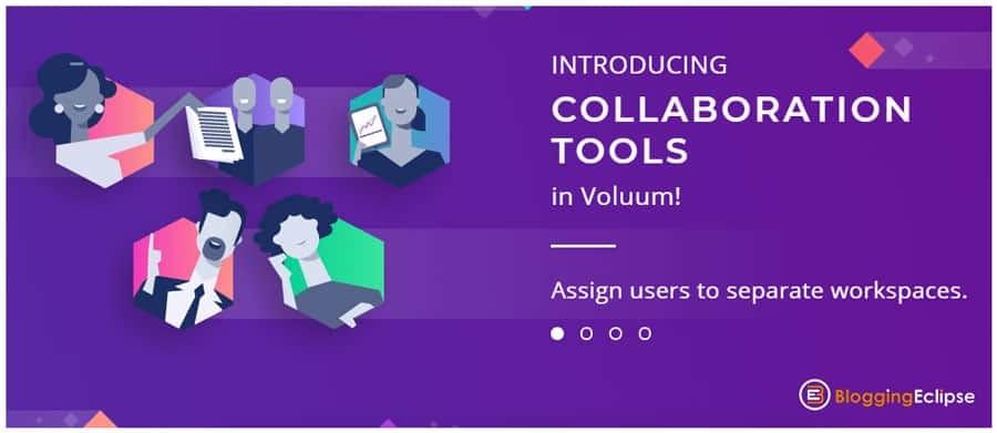 Voluum collaboration tools