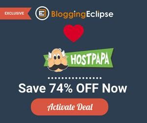 Hostpapa exclusive offer BloggingEclipse