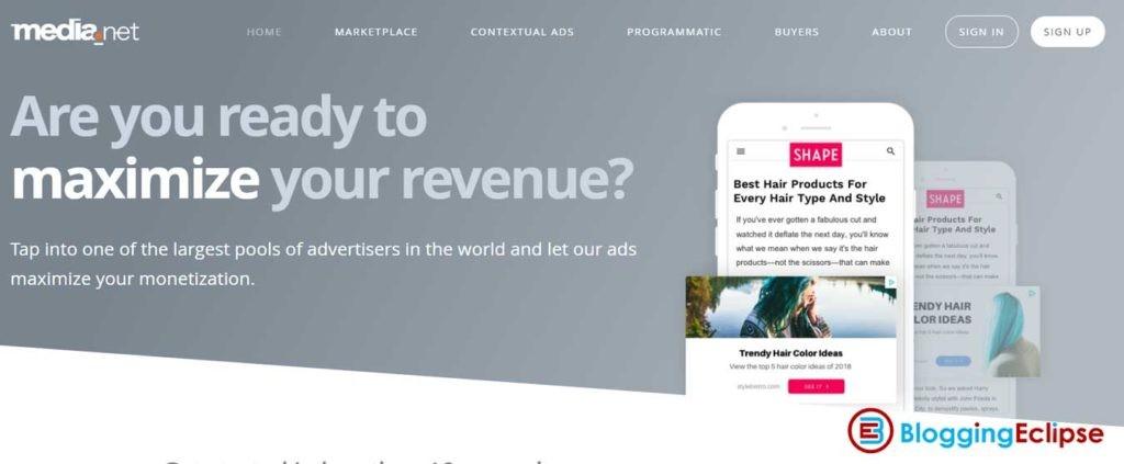 media.net native ad network