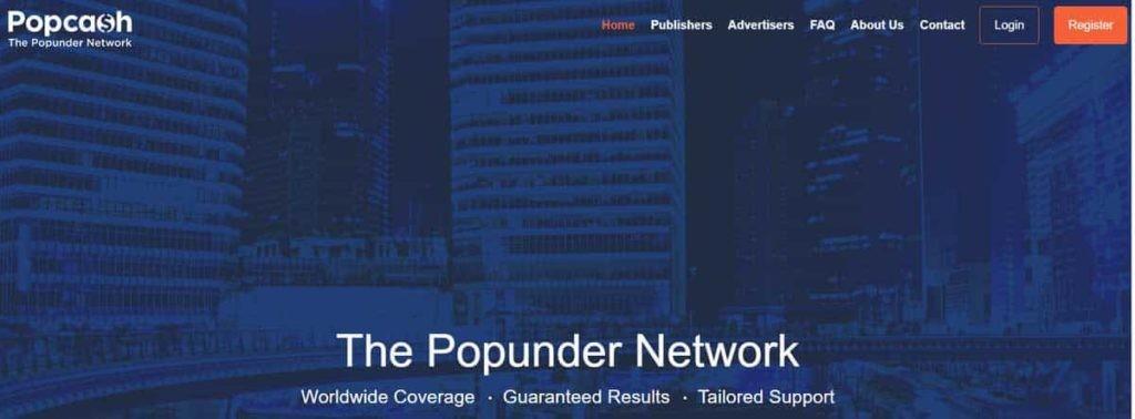Popcash Ad network