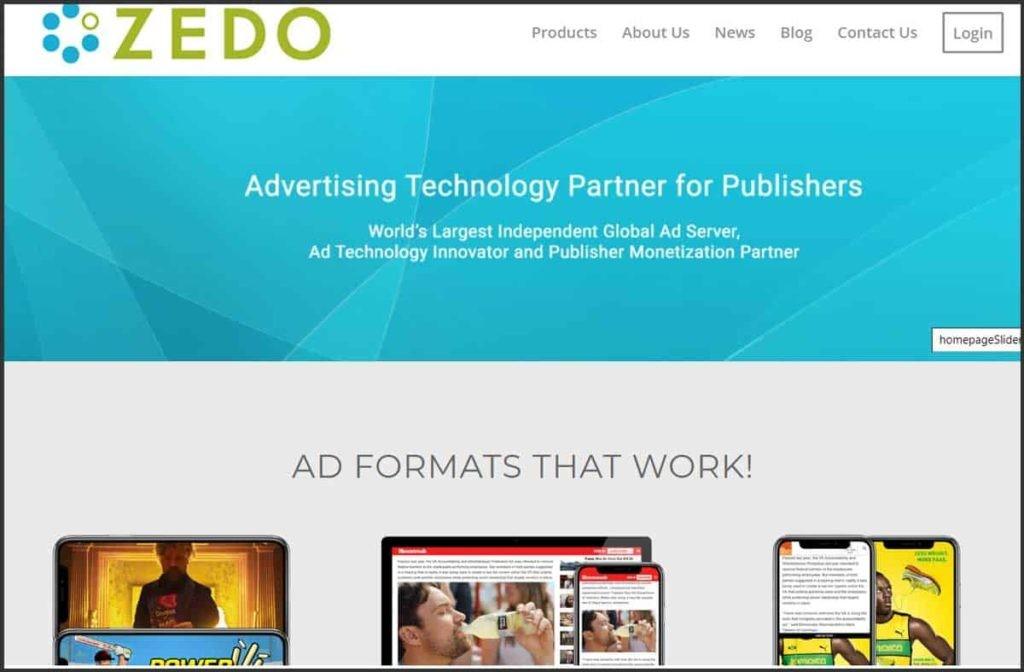 Zedo Ad Server
