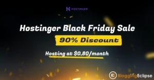 Hostinger Black Friday Deal