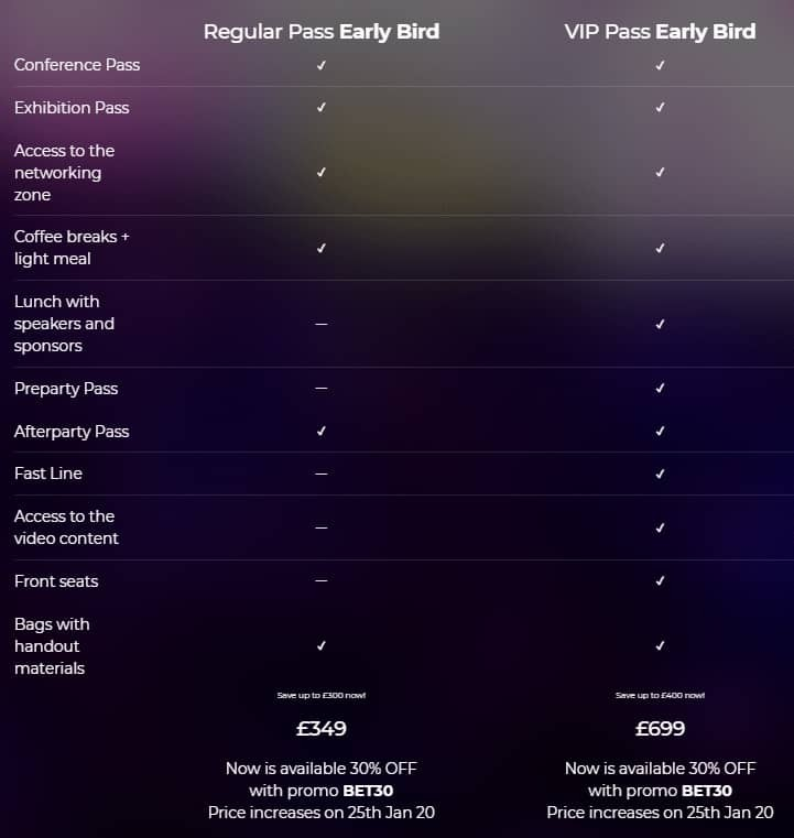 BET 2020 London iGaming Expo Review (Get 30% Off Now) 4