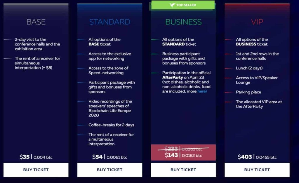 Blockchain life 2020 - The Biggest event on Blockchain, Crypto 7