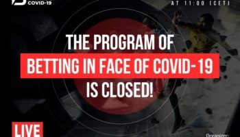 Betting in face of COVID-19: Online Conference [April 17th, 2020] 2