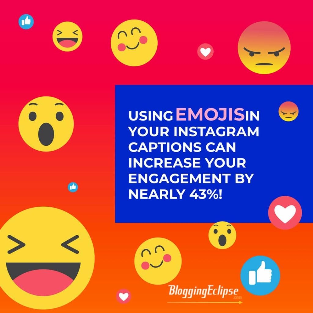 Emoji on Instagram