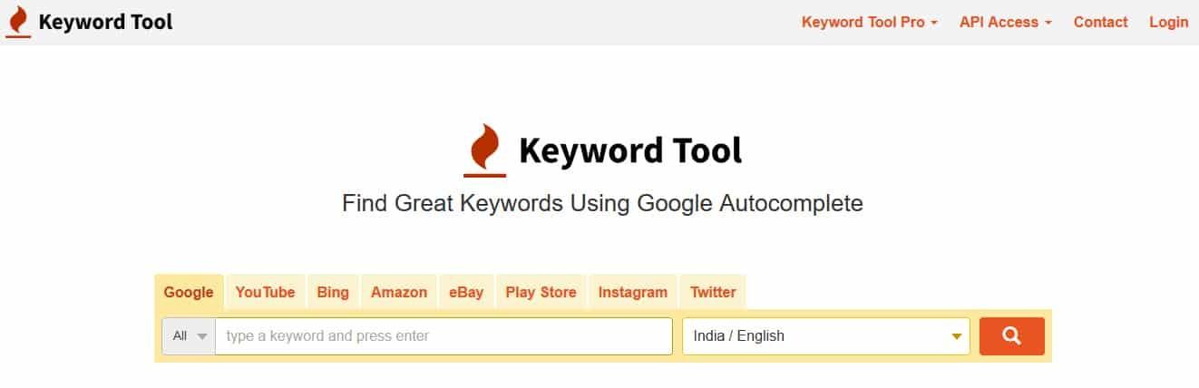 KeywordTool.oi