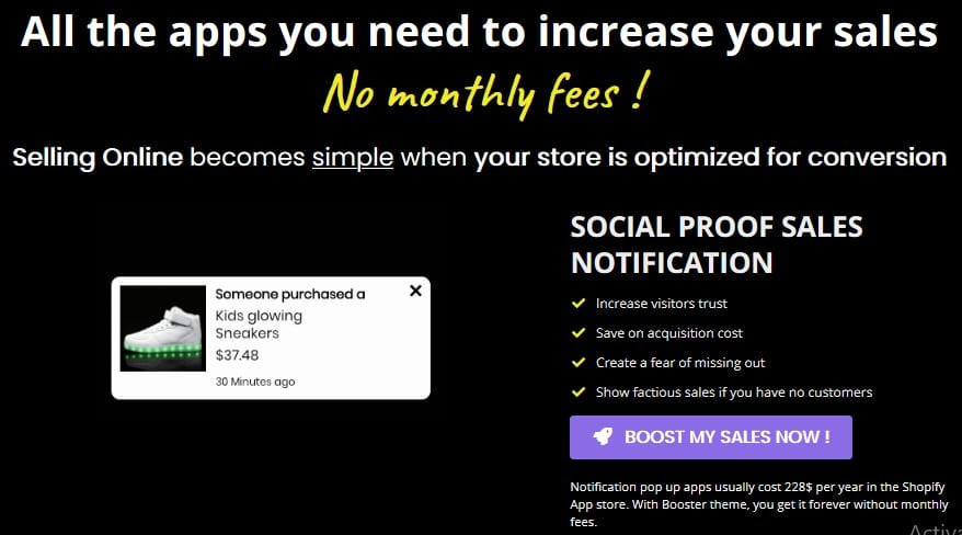 Shopify Booster Theme Discount
