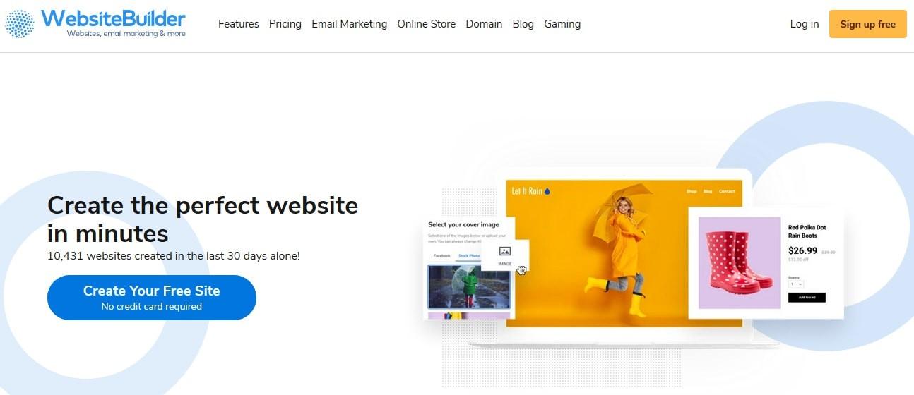 Websitebuilder.com Discount
