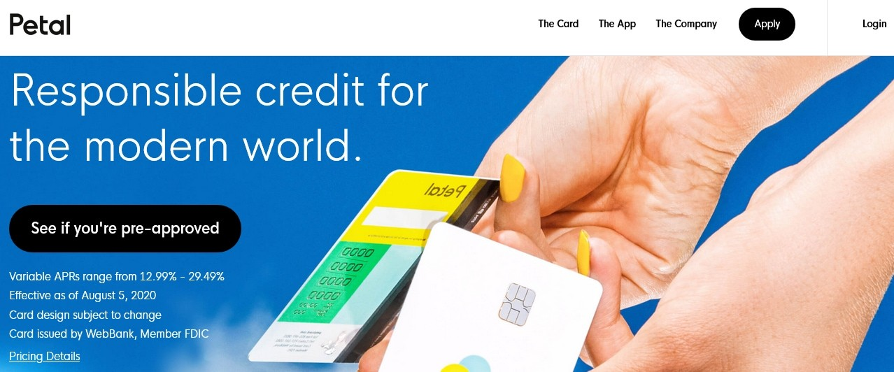 Petal Visa Card