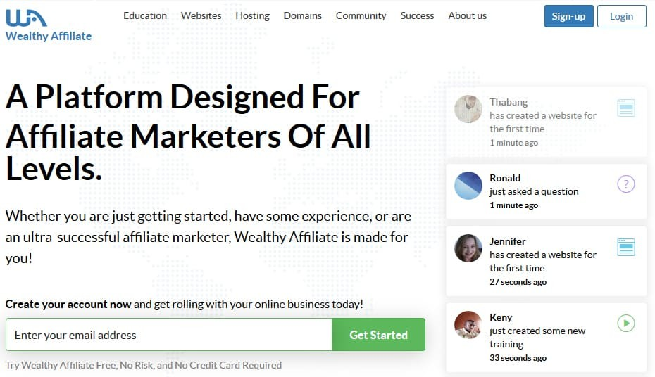 Wealthy Affiliate Coupon