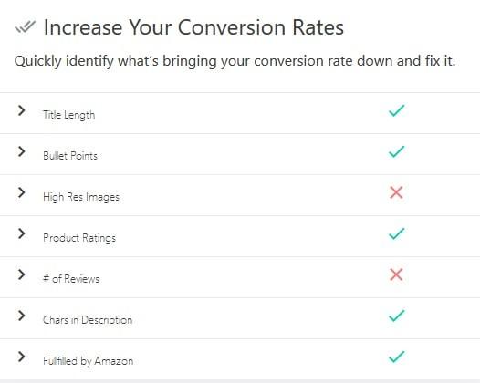 AMZ Tracker increase conversion rates