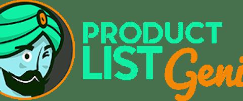 Product List Genie Logo