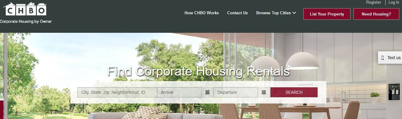 Corporate Housing by Owner (CHBO)