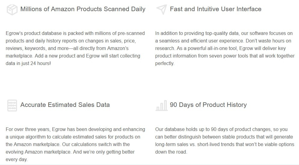 Extra Features of Egrow
