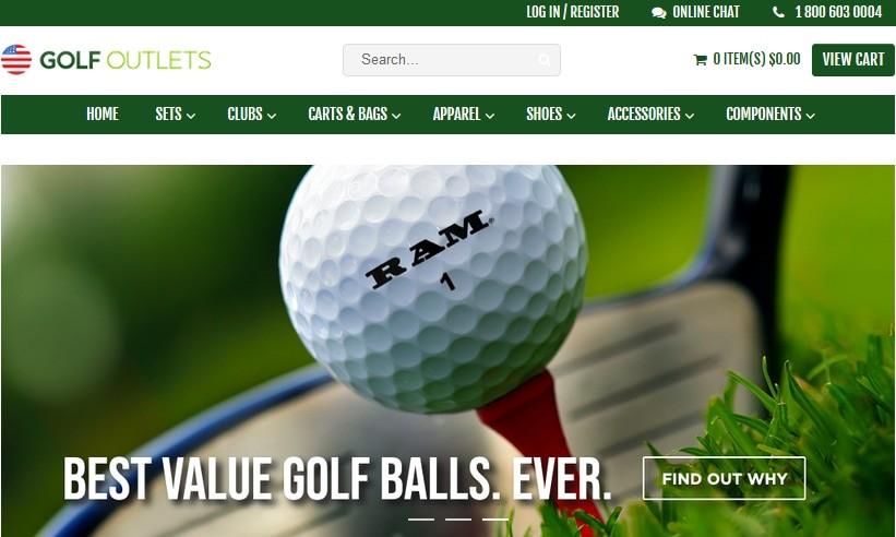 Golf Outlets Affiliate Program