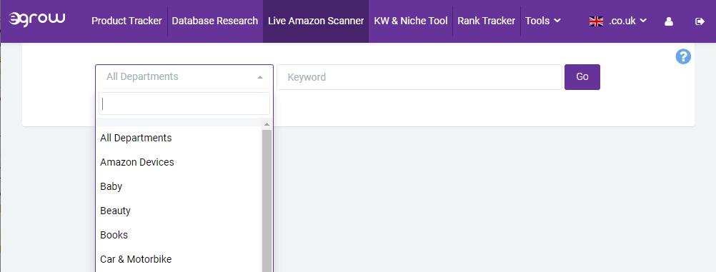 Live Amazon information