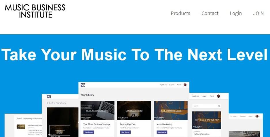 Music Business Institute Affiliate Program