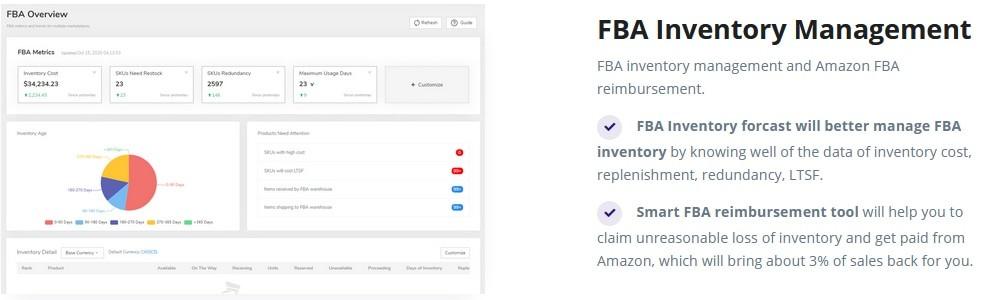 CaptainBI FBA Inventory Tool