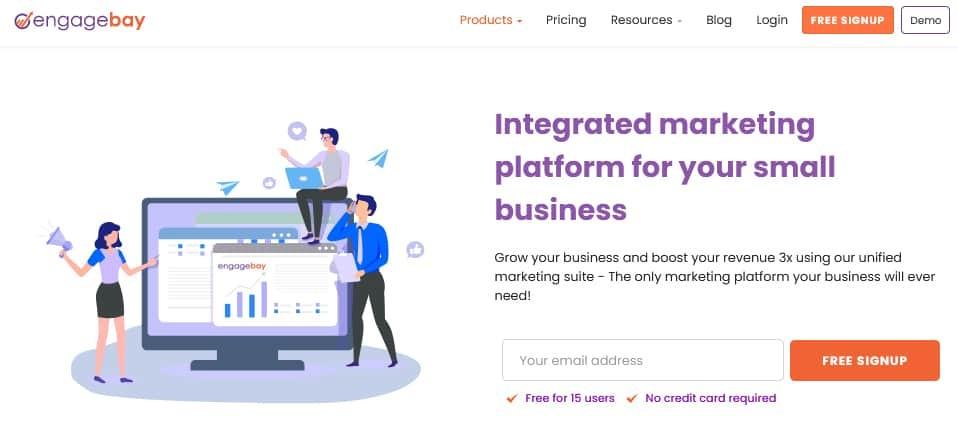 Engagebay Marketing Bay