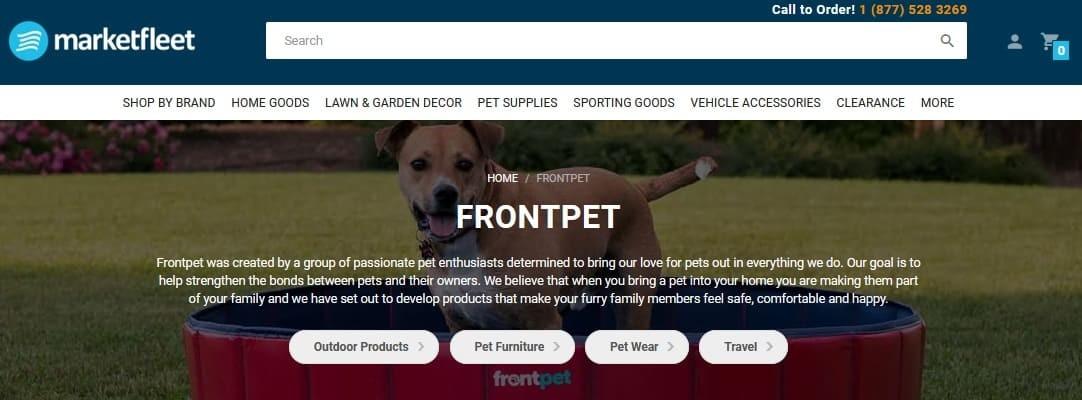 Front Pet Affiliate Program