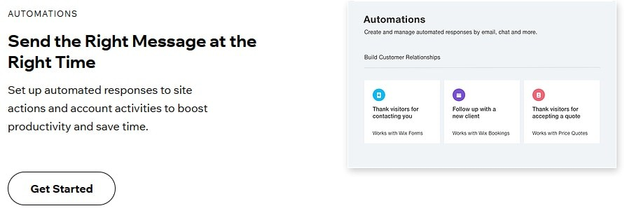 Wix Automations