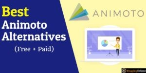 Animoto Alternatives