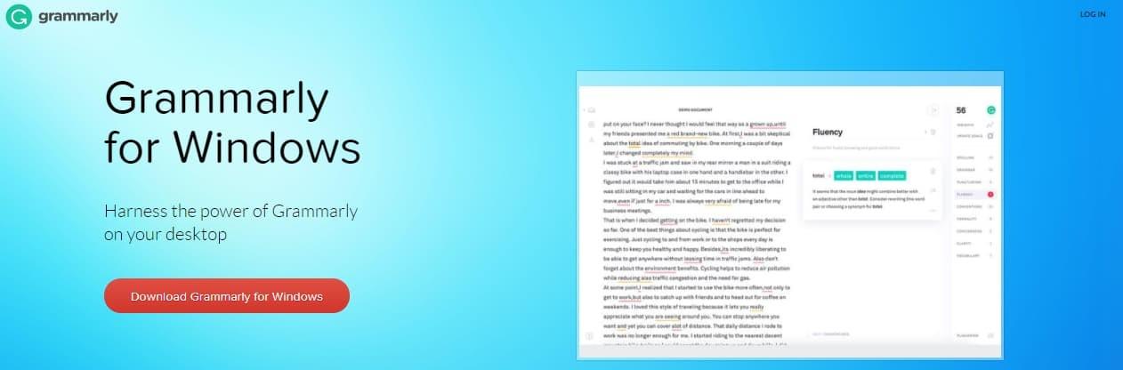 Grammarly Desktop App Add-on Extension