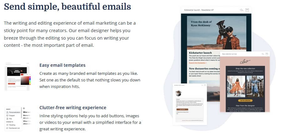 Natural Text-Based Emails
