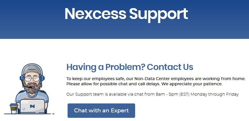 Nexcess Customer Support