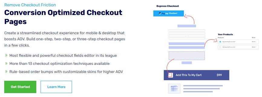 Optimized Checkout Pages