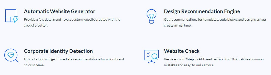 Automated website generating process