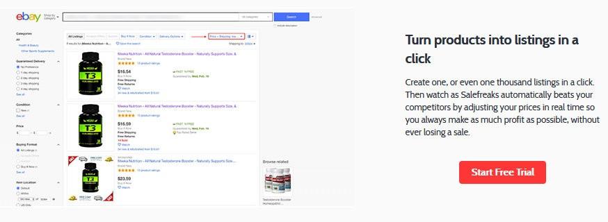Create professional listings