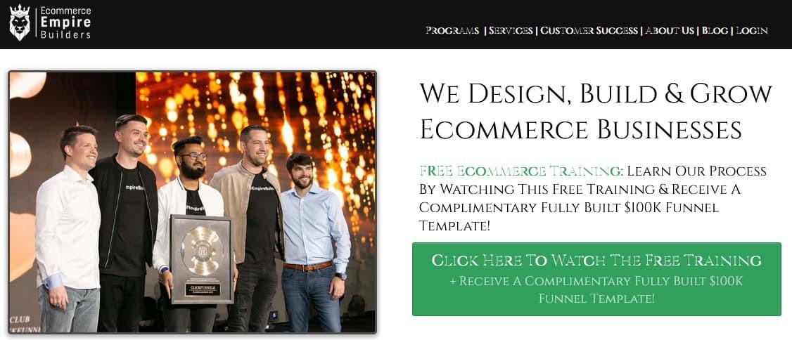 Ecommerce Empire Builders Reviews