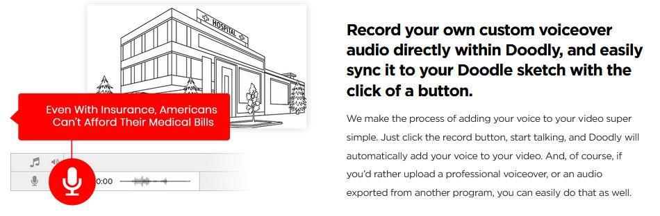 Record Custom Voiceover
